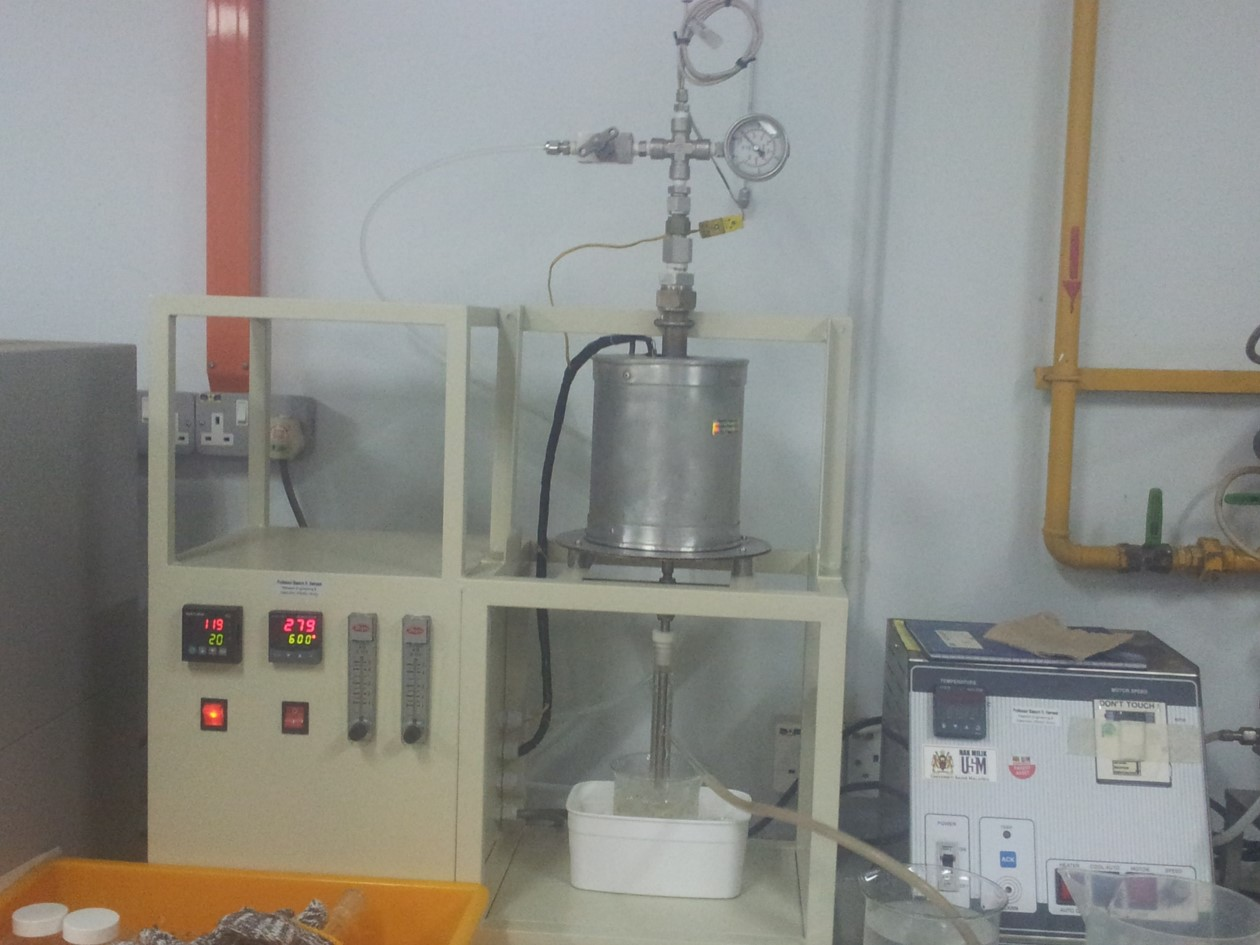 Slow Pyrolysis biomass catalyst